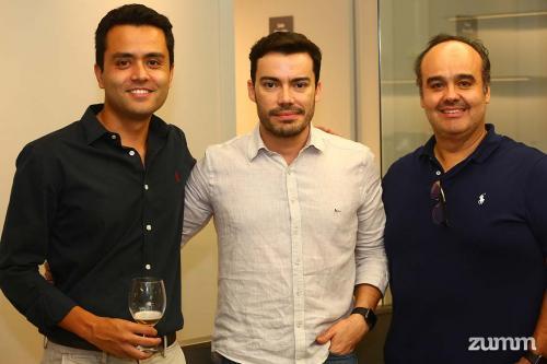 Augusto Collaço, Luis Arthur Nacarato e Esdras Santana