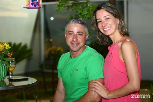 Paulo Schimidt e Keli Corassari