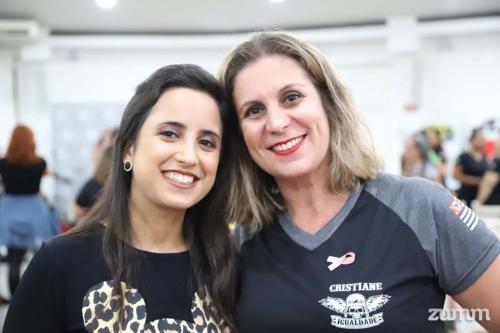 Marilia Vanzela e Cristiane Scarpini