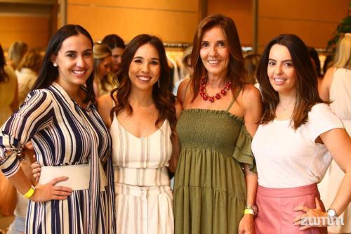 Kelly Savegnago, Mariela e Fernanda Passalacqua e Carolina Mendonça