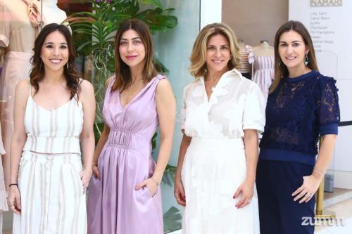 Mariela Passalacqua, Carol Bassi, Elisabete Gaspar e Paula Torres