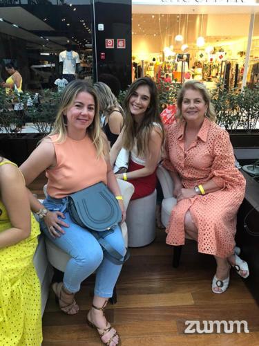Elisa Dib, Mariana Campos e Cristina Dib