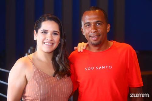 Jéssica Mendonça e Carlos Amaral