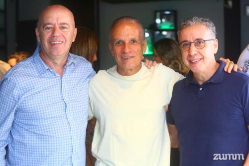 Zig, Marcelo Ribeiro e João Sérgio Carvalho