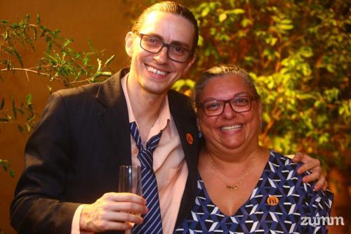 Marcos de Castro e Sheyla Dutra