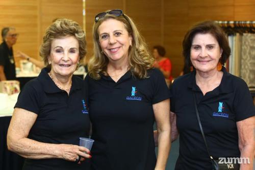 Dudé Chiarello, Vera Galvão e Marilda Guimarães