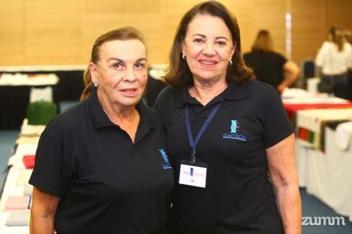 Helena Vinholis e Lilia Machado