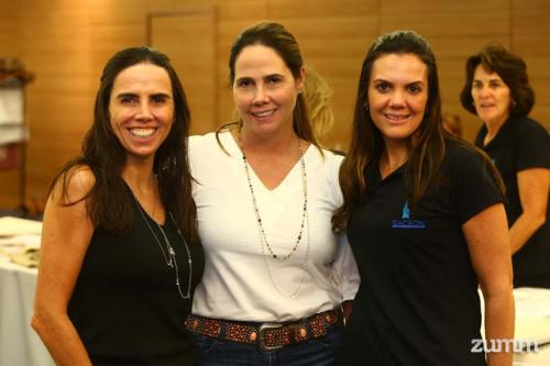 Lu Junqueira, Dri Cury e Andressa Machado