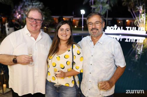 Afonso Martins, e Beatriz e Saulo Borsari