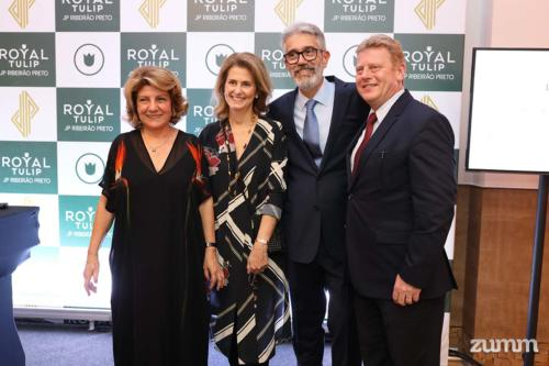 Luciene Santos, Lígia Martins Forbes, Paulo Martins e Paulo Michel