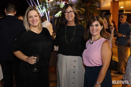 Pâmela Duque, Rose Zucolotto e Luciana Guimarães