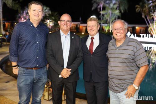 Tanielson Campos, Edmilson Carlos Domingues, Paulo Michel e Vicente Vitagliano