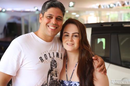 Diego de Campos e Maria Fernanda Capeli
