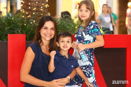 Renata, Luca e Manuela Mendes