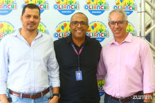 Edmundo Mangueira, Antônio Moreno e Sandro Rodrigues