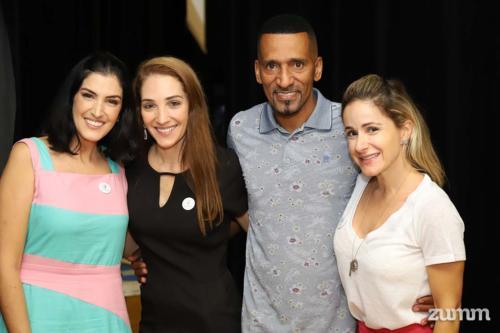 Carola Duarte, Anna Carolina Vieira, Rick Chesther e Maria Carolina Issa
