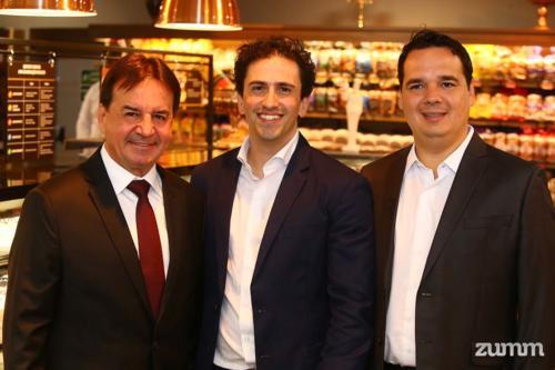 Chalim Savegnago, Felipe Barbosa e Rodolfo Savegnago