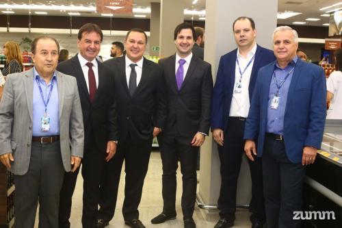 José Sarrassini, Chalim Savegnago, Willian, Murilo Savegnago, Luciano Caldeira e Beto Borsoni