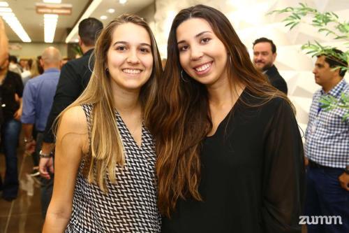 Laura Farsoni Malagutti e Bárbara Costa