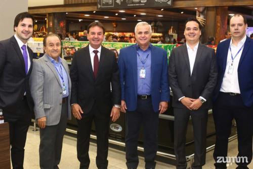 Murilo Savegnago, José Sarrassini, Chalim Savegnago, Beto Borsoni, Rodolfo Savegnago e Luciano Caldeira