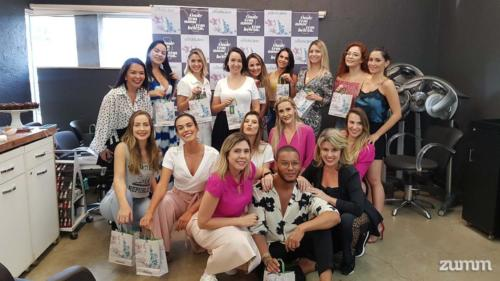 Influencers no evento da Make B