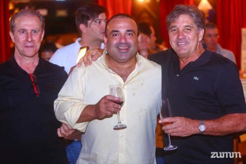 Mauro Zanotti, Túlio Pagano e Marcelo Calil