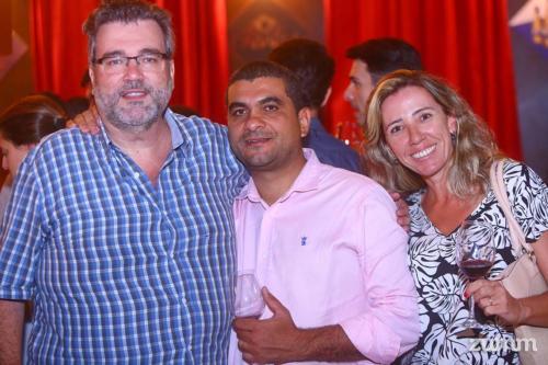 Wagner Martins, Givaldo Costa e Fernanda Ribeiro