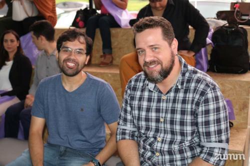 Bruno Henrique e Tiago Machado
