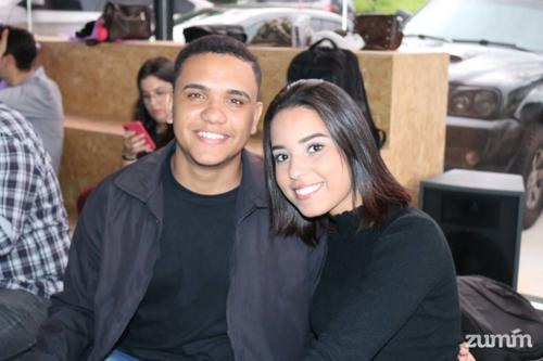 Gabriel Belmonte e Joyce Caroline Lucena
