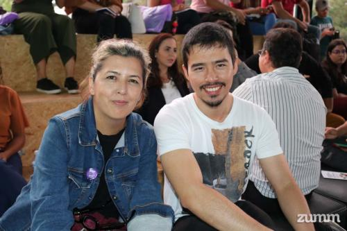 Leila Hentz e Rafael Tadashi