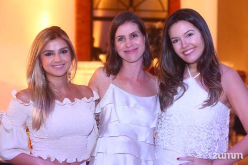 Patrícia Sadalla, Carol Pimenta e Andrea Balieiro