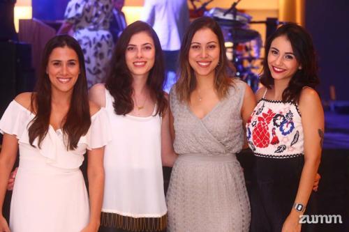 Verônica Sembenell, Giulia Romanella, Vanessa Mendes e Laura Lima