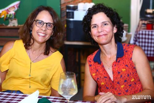Luciane Alberici e Ana Elisa Azzolini