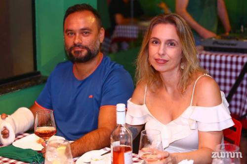 Vitor de Brites e Cláudia Pagano