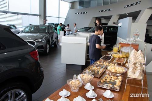 Coffee break na Audi