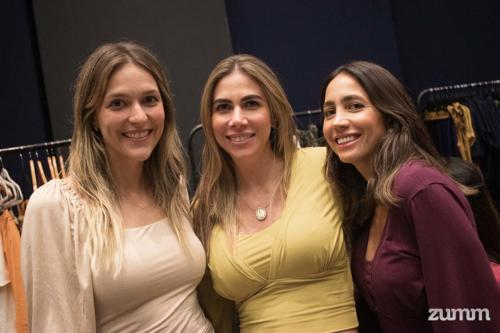 Daniela Spadoni, Marcela Maalouli e Flávia Cury