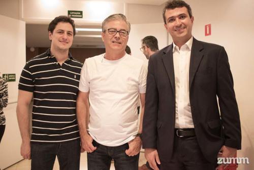 Danilo Romanella, Sérgio Pedro e José Rafael Vaz