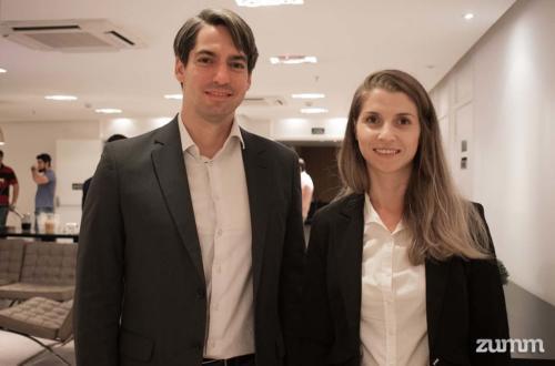 Leandro Mata e Nicole Brunetto