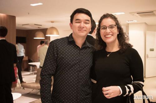 Marcos Fabrício Taminato e Lorena Barreto Mendonça
