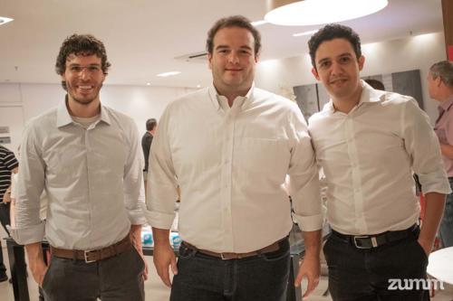 Obede Rodrigues, Rafael Selegatto e Rafael Morais