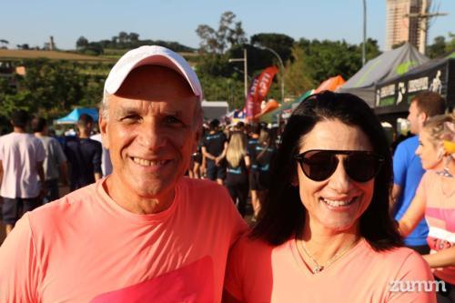 Marcelo Ribeiro e Luiza Caram