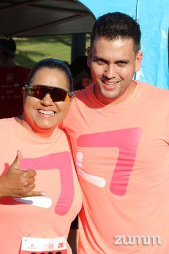Sandra Barreto e Samuel Paião