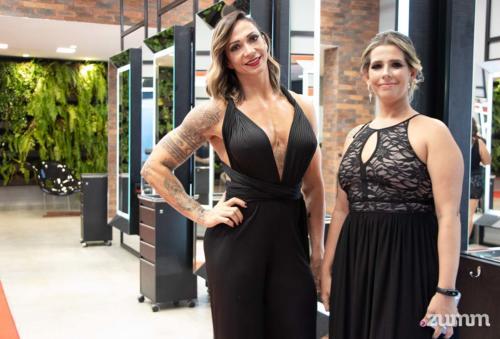 Pamela Baccalini e Aline Tonon