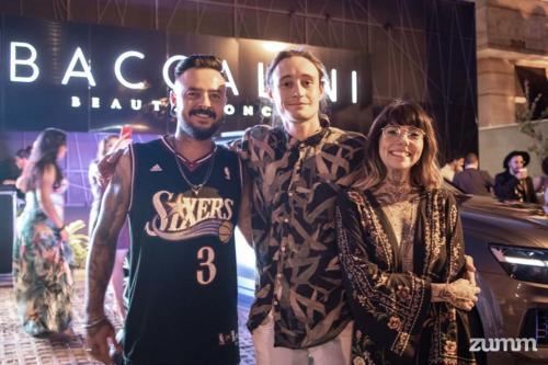 Thiago Ferreira, e Kevin e Ágatha Pucega