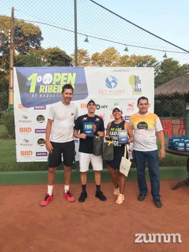 Adriano Ferreira, Renato Milhoci, Fabiane Vega e Aguinaldo Pizzo Jr.
