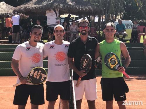 Filipe Casaro, Renato Milhoci, Douglas Collani e Murilo Martiniano