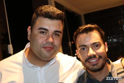 Adriano Oliveira e Luis Artur Nacarato