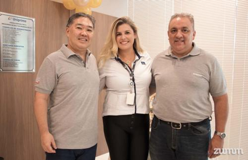 Jefferson Matsubara, Vanessa Massoni e Valmir Penaforte