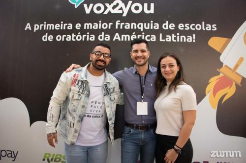 Hussein El Kadi, Lucas Lucio e Georgia Malamão