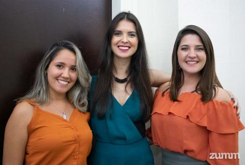 Jene Marçal, Cláudia Mancini e Tamara Dias